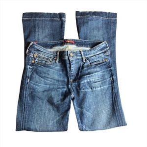 Size 28 Seven For All Mankind Flare Jeans